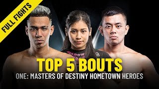 Download Top 5 Bouts   Malaysian Athletes From ONE: MASTERS OF DESTINY   ONE Full Fights Video