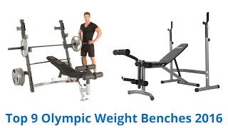 Download 9 Best Olympic Weight Benches 2016 Video