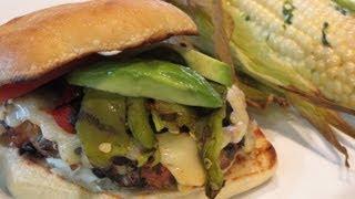 Download Turkey & Black Bean Fire Roasted Chili Burgers Video