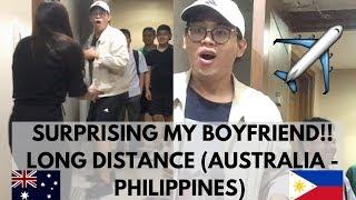 Download SURPRISING MY BOYFRIEND IN THE PHILIPPINES! LDR (Australia - Philippines) | Rheanna Garcia Video