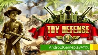 Download Toy Defense 2 Android Game Gameplay [Game For Kids] Video
