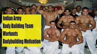 Download Indian Army Body Building team Workouts - Bodybuilding Motivation Video