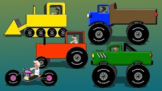 Download Spell The Vehicles - Excavator Dozer Helicopter Truck Motorcycle Video For Kids Video