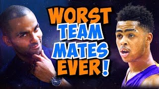 Download 14 HORRIBLE NBA Teammates that CROSSED the Line! Video