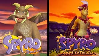 Download Comparisons of Elder Dragons in Toasty and Tree Tops (Playstation 1 and Reignited) Video