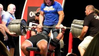 Download Glenn Russo Bombs With 1000 LB Bench Press! Video