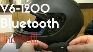 Download V6-1200 Bluetooth Headset Communicator Installation Video