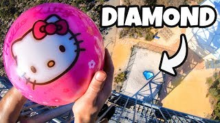 Download BOWLING BALL Vs. 1 CARAT DIAMOND from 45m! Video