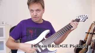 Download Ibanez TAM 10 and RG8 comparison Video