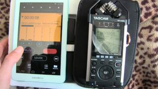 Download How to use wif-fi & android function on a Tascam DR 44WL Video
