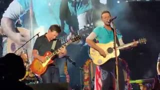 Download Coldplay w/ Michael J Fox - Earth Angel and Johnny B. Goode Video
