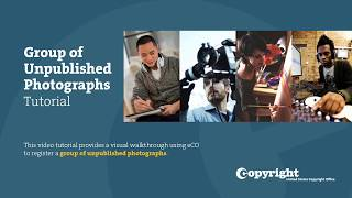 Download Group Registration of Unpublished Photographs: Tutorial (2018) Video