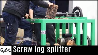 Download Screw log splitter Video
