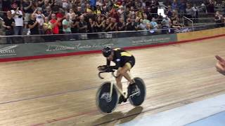 Download Giuseppe Marinoni's Bell Lap @ Best Hour Record Attempt Mattamy 2017 Video