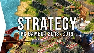 Download 30 Upcoming PC Strategy Games in 2018 & 2019 ► RTS, 4X & Tactics! Video