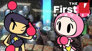 Download First 25 Minutes of Super Bomberman R's Story Mode (Nintendo Switch) Video