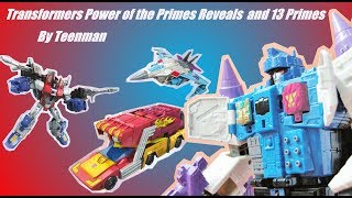 Download Transformers Power of the Primes Reveals and the 13 Primes Video