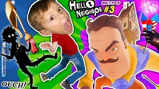 Download SCARY HELLO NEIGHBOR DREAM: SHADOW MAN! FGTEEV BUTT KICKED! COKE & MENTOS EXPERIMENT Basement Beta 3 Video