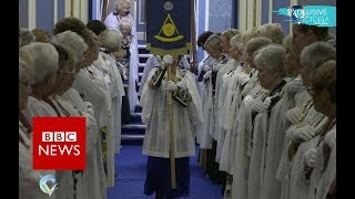 Download The secret world of female Freemasons - BBC News Video
