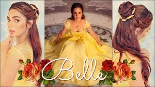 Download Emma Watson's Belle Makeup & Hair Tutorial Beauty & The Beast Video