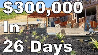 Download $300,000 Landscaping Job In 26 Days (Luxury Landscape Construction) Video