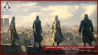 Download Assassin's Creed Unity E3 2014 World Premiere Cinematic Trailer [EUROPE] Video