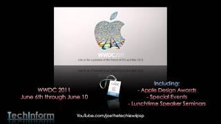 Download Apple WWDC 2011 - June 6 - June 10 2011 Video