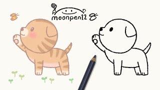 Download 아기 고양이와 봄나비 그림그리기 Video