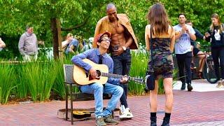 Download Nerd Picks Up Girls With Amazing Voice! Video
