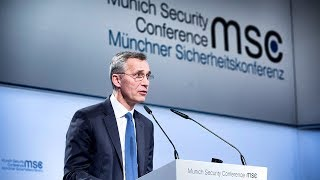 Download NATO Secretary General speech at the Munich Security Conference, 15 FEB 2018 Video