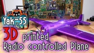 Download 3D printed huge RC plane - Yak55 Video