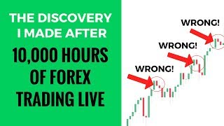 Download The DISCOVERY I made after 10000 hrs of forex trading live Video