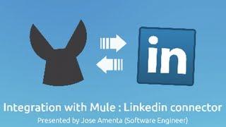 Download Linkedin Connector Demo | LinkedIn Integration Video