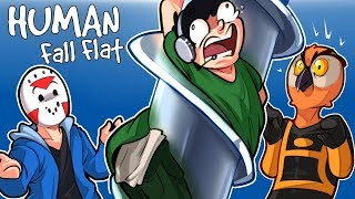 Download Human Fall Flat - OUR FIRST CUSTOM MAP! (Funny Moments) Video