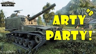 Download World of Tanks - Funny Moments | ARTY PARTY! #8 Video