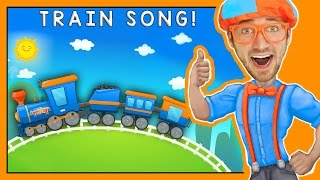 Download Trains for Children | Fun Train Song by Blippi Video