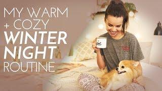 Download My Warm + Cozy Winter Night Routine! Skincare + More   Ingrid Nilsen Video