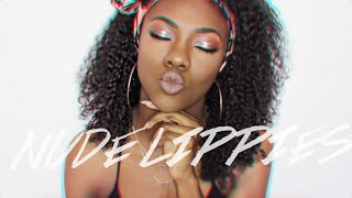 Download Top 10 Nude Lipsticks and Glosses for Dark Skin | High End & Drugstore Video