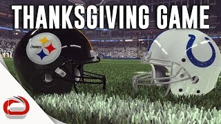Download THANKSGIVING DAY FOOTBALL - Pittsburgh Steelers vs. Indianapolis Colts - Game 3 Video