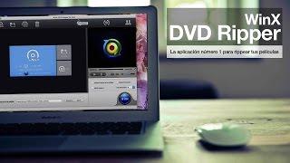 Download WinX DVD Ripper en español GRATIS para Windows y Mac OS X Video