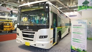 Download Ashok Leyland 12M FESLF CNG BSIV Bus at Bus & Special Vehicle Show Video