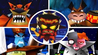 Download Crash Bandicoot Trilogy - All Bosses (No Damage) Video