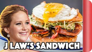 Download Making A Sandwich For Jennifer Lawrence | Step Up To The Plate Video