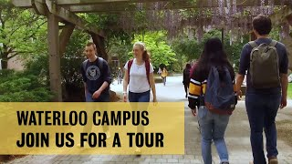 Download Join us for a campus tour at the University of Waterloo Video