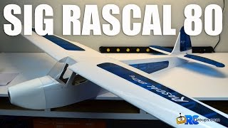 Download SIG Rascal 80 EG Unboxing - RCGroups Review Video