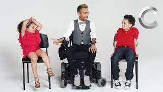 Download Kids Meet a Guy with Muscular Dystrophy | Cut Video