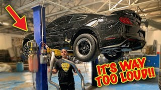 Download STRAIGHT PIPED MY MUSTANG GT! *Too Loud* Video