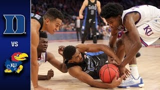 Download Duke vs. Kansas Men's Basketball Highlights (2016-17) Video