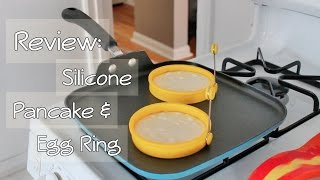 Download Review | Silicone Pancake & Egg Ring (The Perfect Pancake!) Video