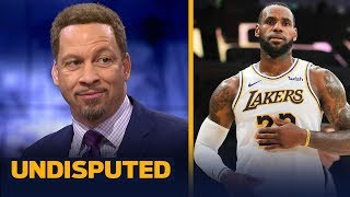 Download Chris Broussard defends LeBron's 'never cheat the game' comments after Lakers win | NBA | UNDISPUTED Video